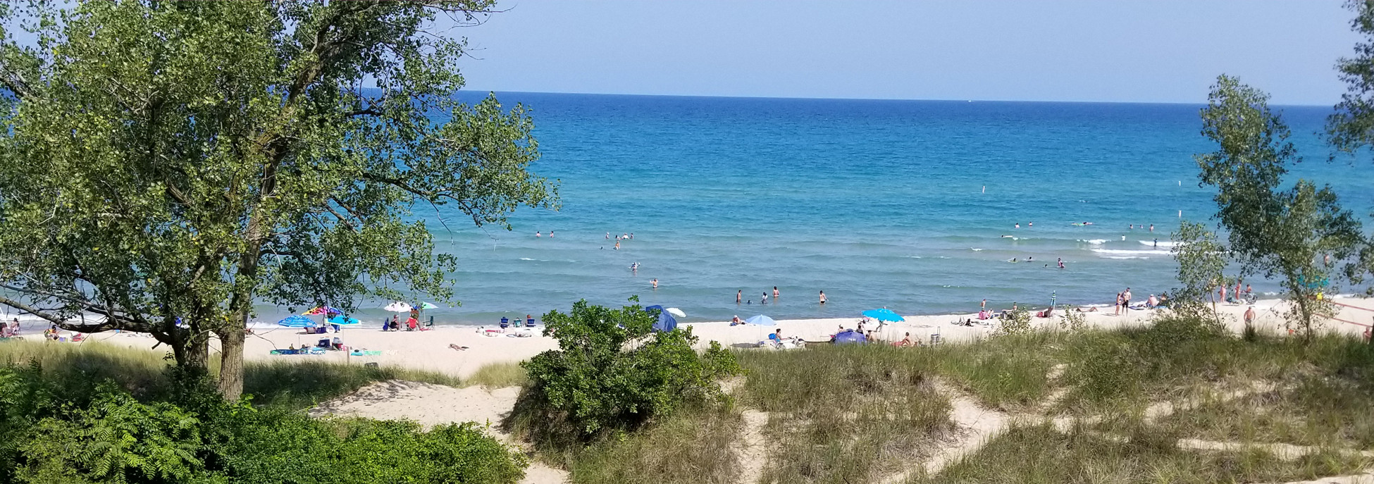 Porter Beach in Summer